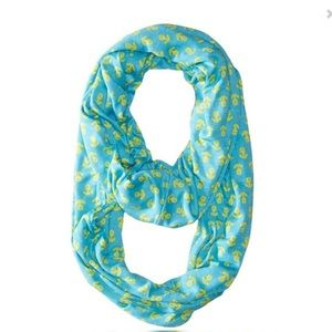 Sperry Infinity Anchor Scarf Nautical Anchors